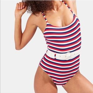 NWOT SOLID & STRIPED Nina One Piece Swimsuit